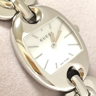 Gucci - 2.超美品 グッチ GUCCI 時計 121.5 マリーナチェーン シェル
