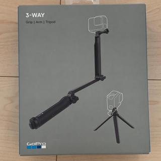 ゴープロ(GoPro)の新品未使用 gopro 3ウェイ マウント HERO8 Black (自撮り棒)