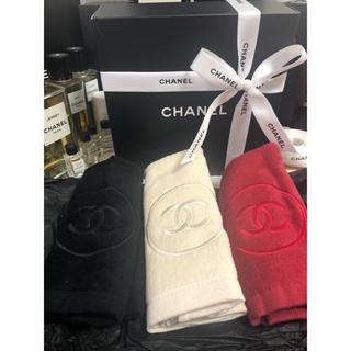 シャネル(CHANEL)のシャネル 非売品 サブリマージュ ハンカチ ハンドタオル(タオル/バス用品)