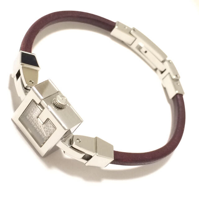 Gucci(グッチ)の3.超美品 グッチ GUCCI 時計 102 ミニG 56Pダイヤモンド レディースのファッション小物(腕時計)の商品写真