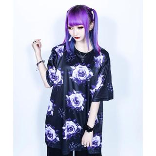 ミルクボーイ(MILKBOY)のKRY     BARADARAKE2BIG Tシャツ  新品 薔薇 ROSE(Tシャツ/カットソー(半袖/袖なし))