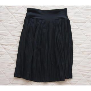 ユニクロ(UNIQLO)のユニクロ プリーツスカート Sサイズ(ひざ丈スカート)