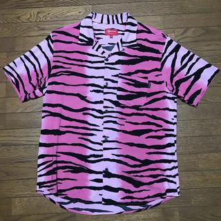 シュプリーム(Supreme)のSupreme Tiger Stripe Rayon Shirt Mサイズ(シャツ)