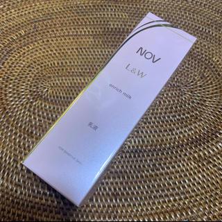 ノブ(NOV)のノブ エンリッチ  ミルク(乳液/ミルク)