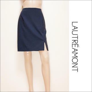 LAUTREAMONT - LAUTREAMONT 裾ZIP スカート♡ロペ ニューヨーカー ルネ foxy