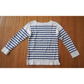 ユナイテッドアローズ(UNITED ARROWS)のユナイテッドアローズ ボーダーシャツ Lサイズ(Tシャツ/カットソー(七分/長袖))