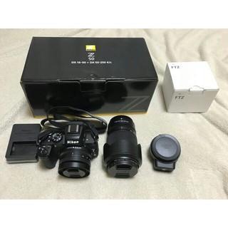 ニコン(Nikon)のNikon Z50 ダブルズームキット+FTZマウントアダプター(ミラーレス一眼)