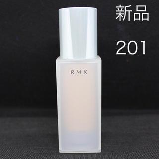 RMK - 【新品】 RMK ジェルクリーミィファンデーション 201