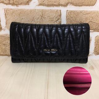 ミュウミュウ(miumiu)のmiumiu   ミュウミュウ 財布 (財布)
