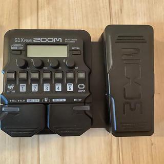 ズーム(Zoom)のZOOM G1X FOUR   【ZOOM  AD-16 ACアダプター付】(ギターアンプ)