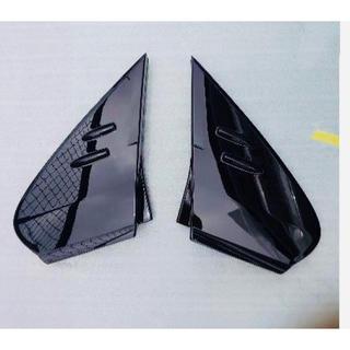 トヨタ - 50プリウス用 トヨタ純正Aピラーカバー左右セット(艶あり黒) 新品