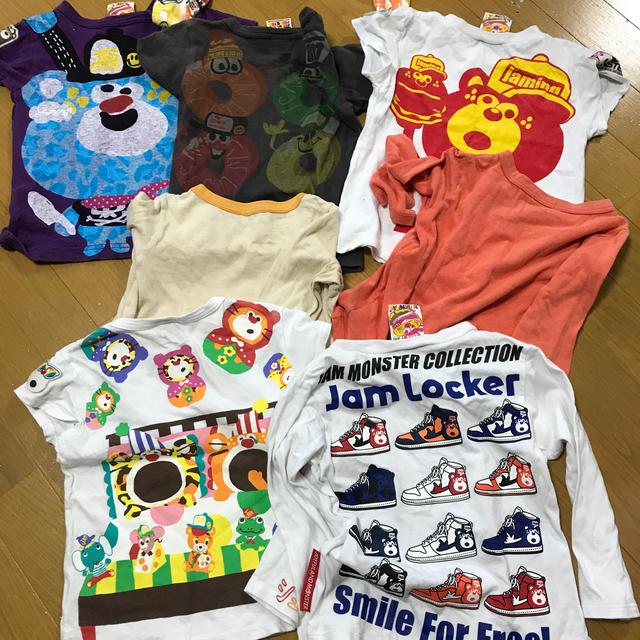 DOUBLE.B(ダブルビー)のJAM.DOUBLE.Bまとめ売り100 キッズ/ベビー/マタニティのキッズ服男の子用(90cm~)(Tシャツ/カットソー)の商品写真