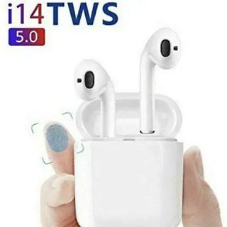 2020年発売の最新版!大人気Bluetoothのワイヤレスイヤホンi14-tw