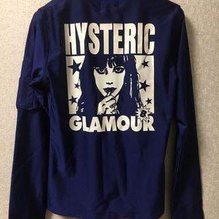 ヒステリックグラマー(HYSTERIC GLAMOUR)の新品タグ付き・ヒスグラ  girlプリント ジャンパー(ブルゾン)