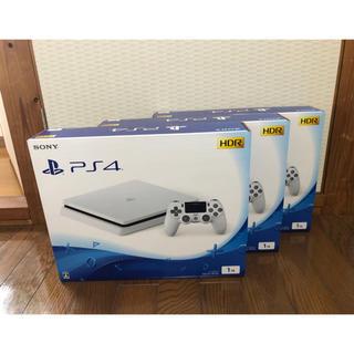 PlayStation4 - 【新品未使用】PS4 グレイシャーホワイト 1TB