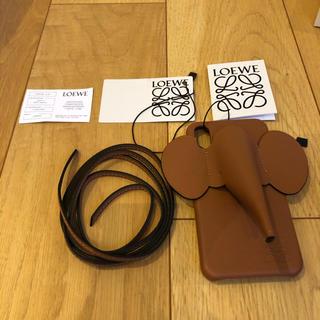 ロエベ(LOEWE)の新品未使用ロエベ iPhone X XS エレファント カバー ケース(iPhoneケース)