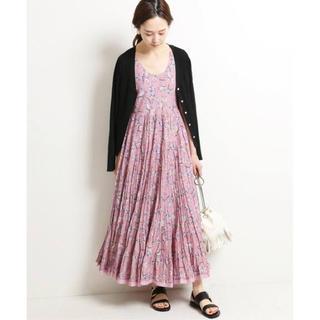 IENA - IENA♡MARIHA 草原の虹のドレス ノースリーブ【M〜 Lサイズの方に】