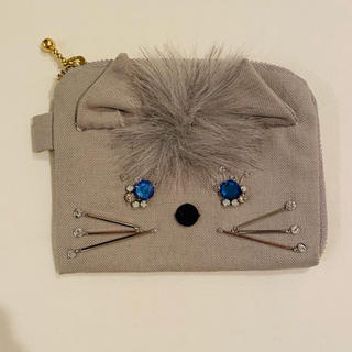 rosy monster ネコウォレット 財布 カードケース ポーチ