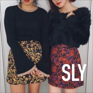 SLY - SLY NOSTALGIA FLORAL スカート花柄♡マウジー エゴイスト