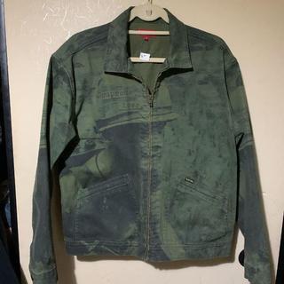 シュプリーム(Supreme)のSupreme is love denim work jacket(Gジャン/デニムジャケット)