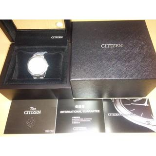 THE CITIZEN ザ・シチズン AQ4020-54Y 土佐和紙文字盤(腕時計(デジタル))
