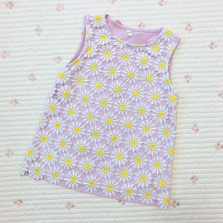 エフオーキッズ(F.O.KIDS)のアプレレクール 花柄 タンクトップ(Tシャツ/カットソー)