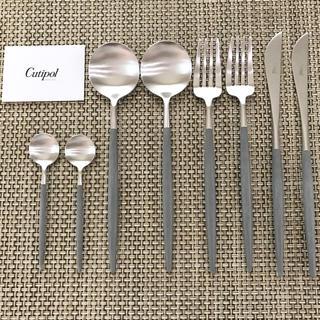 【正規品】Cutipol クチポール ゴア グレー 8点セット*(カトラリー/箸)