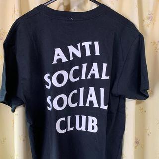 アンチ(ANTI)のアンチソーシャルクラブTシャツ XL ascc ブラック(Tシャツ/カットソー(半袖/袖なし))