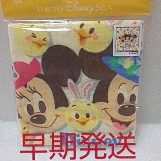 Disney - うさピヨ うさぴよ ウォッシュタオル 2020 ディズニー【明日発送】