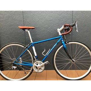 ラレー(Raleigh)のラレー RALEIGH CRF Carlton-F ブルー 420 クロモリ(自転車本体)