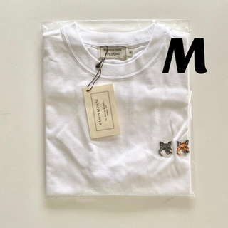 MAISON KITSUNE' - 【即日発送】新品 メゾンキツネ Tシャツ ダブルフォックス ホワイトM