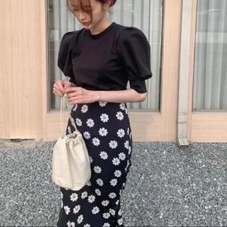 dholic - デイジー柄 スカート + トップス 2点セット 【4size】