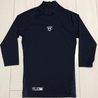 アンダーアーマー(UNDER ARMOUR)の新品 アンダーアーマー コンプレッション アンダーシャツ 七分袖 ネイビー LG(ウェア)