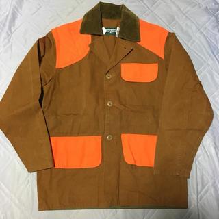 ポロラルフローレン(POLO RALPH LAUREN)のSAFTBAK ハンティングジャケット Tan×Orange S(カバーオール)