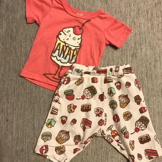 アナップキッズ(ANAP Kids)のセットアップ90サイズ(Tシャツ/カットソー)