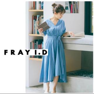 FRAY I.D - フレイアイディー ラップカシュクールワンピース
