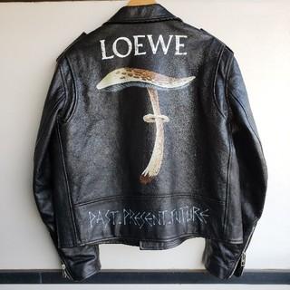 LOEWE - 希少 LOEWE Biker Mushroom Handpainte