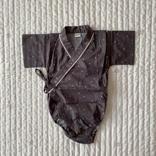 フタフタ(futafuta)のteteatete テータテート 甚平ロンパース 浴衣ロンパース(甚平/浴衣)