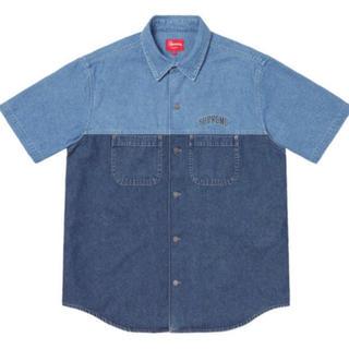 シュプリーム(Supreme)のsupreme denim shirt S デニムシャツ(シャツ)