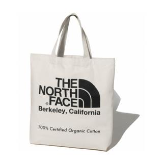 ザノースフェイス(THE NORTH FACE)のノースフェイス オーガニックコットン トートバッグ ブラック NM81971(トートバッグ)