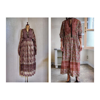 Isabel Marant - 70s INDIA Cotton Maxi Dress インド綿 ワンピース