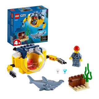 レゴ(LEGO) シティ 海の探検隊 小型潜水艦(積み木/ブロック)