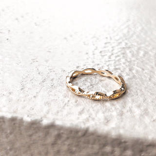 ヨンドシー(4℃)の full moon ring*フルムーン(満月)リング(リング(指輪))