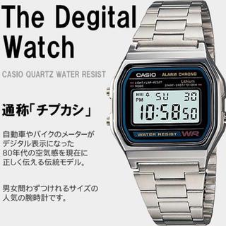 CASIO 腕時計 チープカシオ スタンダード A158WA-1JF メンズ(腕時計(デジタル))