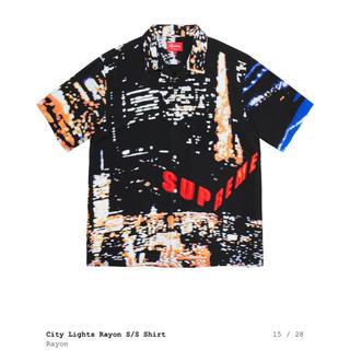 Supreme - supreme 20ss City Lights Rayon s/s Shirt