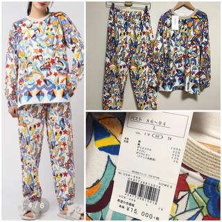 ツモリチサト(TSUMORI CHISATO)の新品 タグ付き ツモリチサト  パジャマ Lサイズ スリープ ねこずきん(パジャマ)