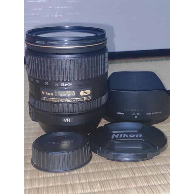 Nikon(ニコン)のNikon AF-S NIKKOR 24-120mm f/4G ED VR N スマホ/家電/カメラのカメラ(レンズ(ズーム))の商品写真
