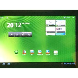 エイサー(Acer)のICONIA TAB A500 Androidタブレット(タブレット)
