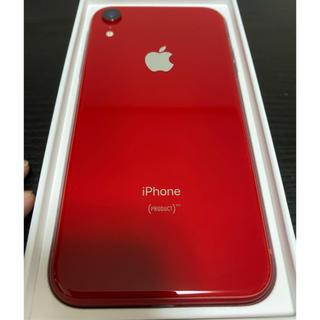 Apple - iPhoneXR  simロック解除 レッド 128GB