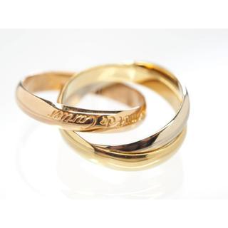 カルティエ(Cartier)の質屋出品om Cartier カルティエ トリニティゴールドリング 750(リング(指輪))